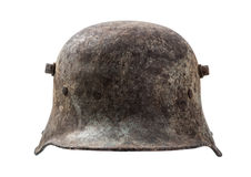 Old german helmet Stock Photography
