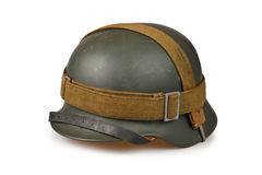 Old german helmets Stock Images