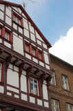 Old german house. Traditional old house with timber framing Royalty Free Stock Image