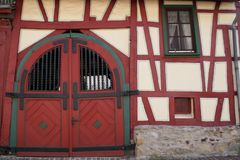 Old German House Stock Image