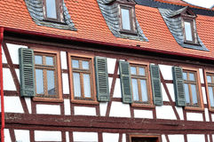 Old german house. Royalty Free Stock Photography