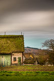 Old German Houses in Nature Royalty Free Stock Photography