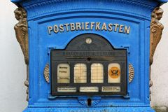 Old German Mailbox Royalty Free Stock Photos