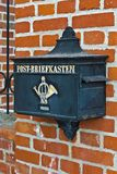 Old German mailbox Stock Photos