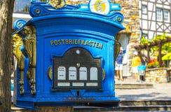 Old German Mailbox Royalty Free Stock Image