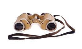 Old German military binoculars Stock Images