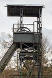 old german mine tower Stock Photo