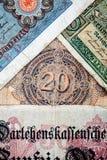 Old German money Stock Photography