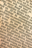 Old german text 1900 Stock Image