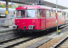 Old German train Royalty Free Stock Photography