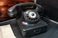 Old german vintage phone Royalty Free Stock Image