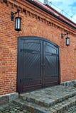 Old German warehouse. Kaliningrad (former Koenigsberg), Russia Royalty Free Stock Image