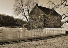 Old Gettysburg farmhouse Royalty Free Stock Images
