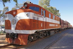 Old Ghan Railway, Australia Stock Photos