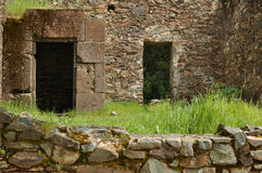 Old Ghost Town Doors with Secret Passage Stock Photography
