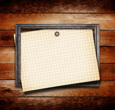 Old gilded wooden frame Royalty Free Stock Photos