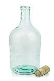 Old glass bottle Royalty Free Stock Image