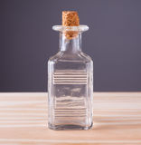Old glass bottle. Stock Photo