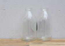 Old glass bottles Stock Image