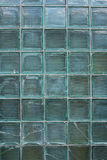 Old glass brick wall Royalty Free Stock Photo