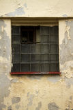 Old glass-bricks window Royalty Free Stock Image