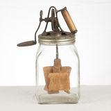 Old Glass Butter Churn Royalty Free Stock Photo