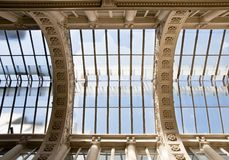 Old glass ceiling Royalty Free Stock Photography