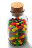Old Glass Jar of Candy Royalty Free Stock Image