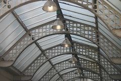 Old Glass Roof Royalty Free Stock Images