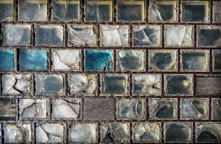 Old Glass Tiles. Royalty Free Stock Photos