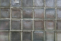 Old glass wall. Royalty Free Stock Photography