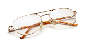Old glasses Royalty Free Stock Images