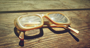 Old glasses stock image