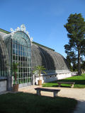 Old Glasshouse in Lednice Stock Photography
