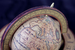 Old globe. Antique Globe Royalty Free Stock Images