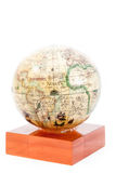 Old globe isolated Royalty Free Stock Photo