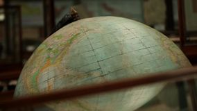Old Globe. The Old Globe rotates close to stock footage