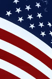Old Glory #1. American flag presented on a diagonal Royalty Free Stock Photo