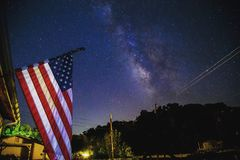 Old Glory royalty free stock image
