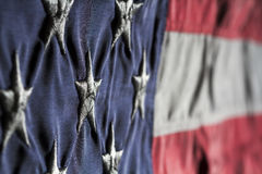 Old Glory Close Up Royalty Free Stock Images