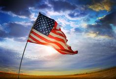 Old Glory Flag Royalty Free Stock Image