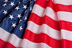 Old glory flag Stock Photography