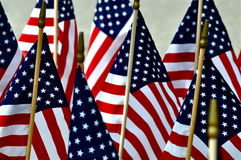 Old Glory Memorial Stock Photography