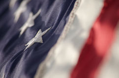 Old Glory Waves Royalty Free Stock Photo