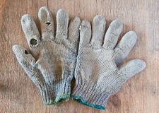 Old gloves Royalty Free Stock Image