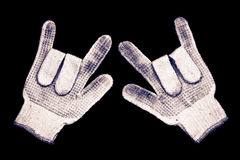 Old gloves. Royalty Free Stock Photography
