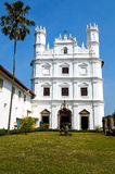 Old Goa cathedral Royalty Free Stock Image