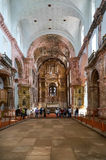 Old Goa cathedral Royalty Free Stock Photo