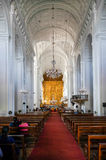 Old Goa cathedral Stock Photography