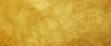 Old gold background with distressed vintage grunge texture design stock image